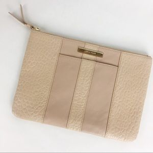 COLE HAAN | Pebbled Leather Clutch Pouch